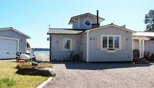 Pippi Långstrump-hus kallar Lars-Åke Wilhelmsson sin utbyggda sommarstuga i Gävleborgs län.