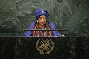 Ellen Johnson Sirleaf.