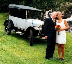 Tommy Sjöström och Inger Tjernlund, Sundsvall, har den 26 augusti vigts i Tingsrätten, Sundsvall.Foto: privat