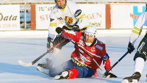 Stopp för Petter Andersson.