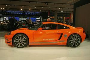 LITEN OCH FRÄN. Fräna lilla Dodge Circuit EV är en elbil som gör 0–100 km/tim på mindre än fem sekunder och har en toppfart på över 200 km/tim. Bilen bygger på Lotus Elise och tekniken under skalet sägs komma från elsportbilstillverkaren Tesla.