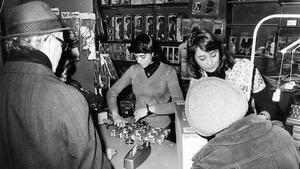 Julhandel den 20 december 1976.
