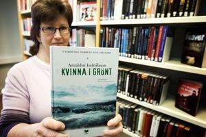 Åsa Strömberg är väldigt nöjd med Junsele biblioteks nya lokaler.