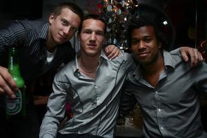Silk. Linus, Sebbe och Joel