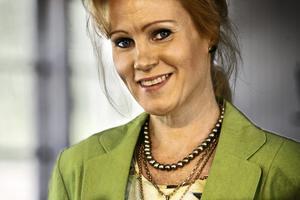 Operasångerska Charlotta Larsson.