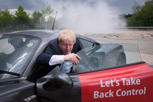 Boris Johnson, Londons förre borgmästare och ivrig förespråkare för Brexit, turnerar runt i Storbritannien inför folkomröstningen den 23 juni.