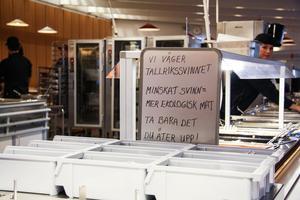 Lugnetgymnasiet informerar sina elever om matsvinn: