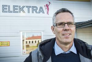 Jan Delin tar över vd-stolen för Elektra i Hälsingland medan organisationen ses över.