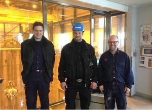 Krister Bäckstrand, Stefan Svensson och Martin Bergquist nekades studieledighet.