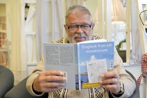Ove Aronsson har varit intresserad av fartyg sedan ungdomen och skrivit böcker och ballader