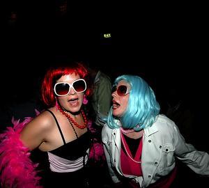 Babsanfans. I publiken fanns bland annat Gittan Blaze och Cleopatra Pink, båda från Las Vegas. Foto:Staffan Westerlund