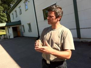 Veterinär Martin Pegado.