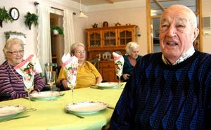 Stig Eriksson ser fram emot att få lite annorlunda mat serverad.