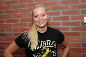 Matilda Svenler har under flera sejourer spelat i AIK. 2014 blev det guld, men 2016 var hon med och förlorade SM-finalen mot sin nya klubb Kareby.