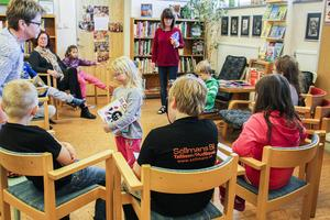 Här berättar barnen i förskoleklassen om böcker de har läst.