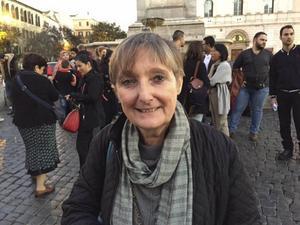 Daniella Pompei, ansvarig för migranterna vid Sant Egidio i Rom
