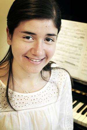 Lilit Najjar är 16 år och är flykting från Syrien.