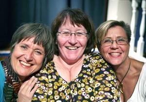 Ursprungs-SML. Marie Löhman, Lena Mattsson och Anna Sving Sjöblom.