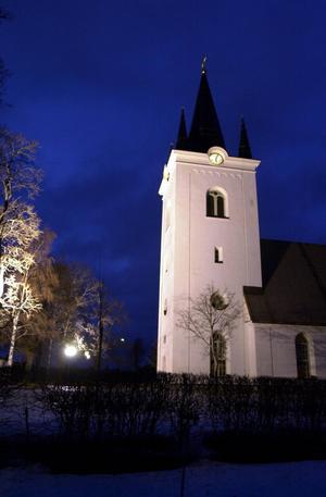 I Svärdsjö kyrka kunde unga falupojkar förr sjunga till sig en utbildning.