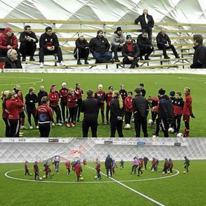 Spelare, ledare och styrelsen träffades i Ljusdalshallen.