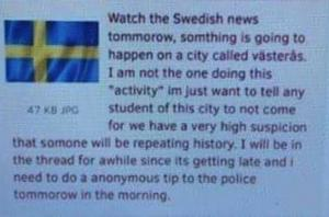 Så här ser meddelandet ut.