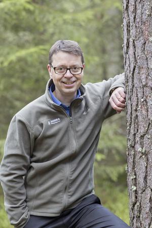 VD för Norra Skogsägarna, Pär Lärkeryd, tror på framgång genom jämställdhet.