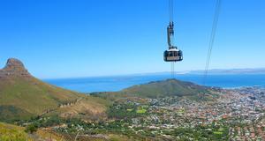 Se Kapstadens dramatiska berg på närmare håll.