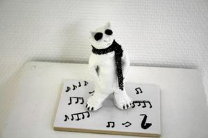 """""""Cool-katt"""" är namnet på detta föremål från Maria."""