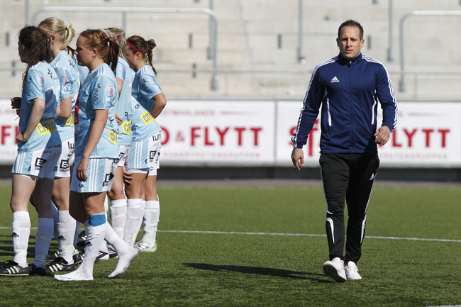 Pehrsson sagade sina spelare efter forlusten
