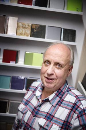 Gunnar Klang, butikschef på Kakelmässan i Östersund.