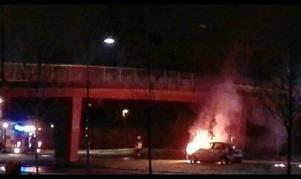 Bilbranden vid Råbybron.