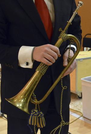 För att få till rätt tonart fick Marcus Petersson själv bygga om posthornet som han blåste signaler på i Mozarts Posthornsserenad.