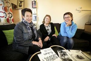 Berit Lind, Eleaonor Lundberg  och Lena Sjöberg berättar att Krumsprång varit en föregångare. Numera är verksamheten mer knutet till elevens åtgärdsprogram. Mentorn, eleven och Krumsprång kommer överens om vilket mål man ska jobba mot, berättar Berit som är kulturchef.