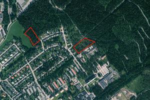 Den reviderade planen för bostadsbyggande på övre delen av Erikslund.