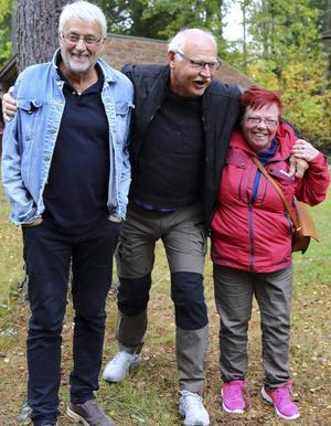 Från vänster Hans Ulrik Bergvik, Frans Weinacht, Åsa Eklund.