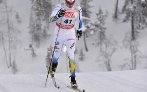 Jens Eriksson tog sig vidare från kvalet och slutade som 18:e åkare. Foto: Nisse Schmidt/DT