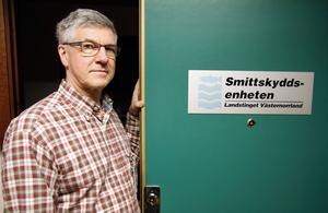Hans Boman, läkare på Smittskyddsenheten på landstinget Västernorrland.