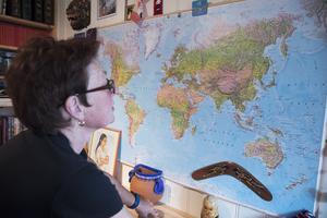 Många resor har det blivit för Marie. Hon har, precis som Geir, jobbat på sjön i många år. 73 länder har hon besökt hittills, men många fler står på önskelistan.