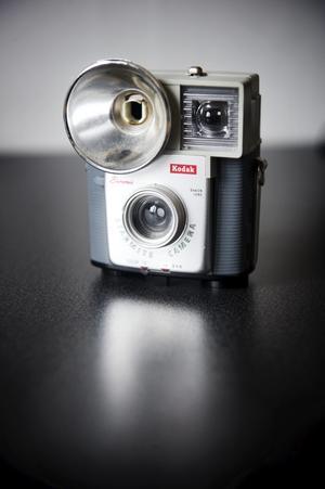 Therése första kamera har hon sparat. Förstås.