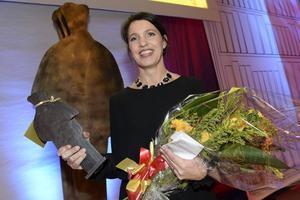 Kristina Sandberg, från Sundsvall, som fick Augustpriset förra året