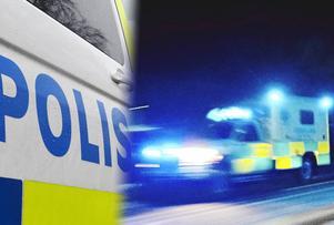 En man i 30-årsåldern misstänks för rattfylleri efter en trafikolycka på E16. Foto: Robbin Norgren