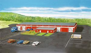 Det nya industrihuset beräknas kosta 12 miljoner kronor och sedan ska Limatvätten investera 10 miljoner kronor i maskiner och värmeanläggning.