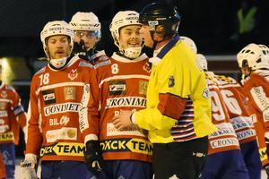 Fredrik Rydberg tycker att lagets prestation framåt var för dålig