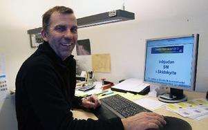 Tävlingsledaren Rolf Larsson ser fram emot SM-tävlingarna.