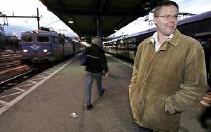 Tåget har gått för Leif Lindström om socialdemokraterna får bestämma. Lindström räknar med att överklaga kvällens förväntade fullmäktigebeslut till länsrätten.Foto: Tomas Nyberg