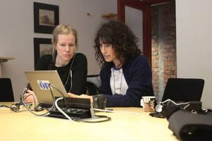 Malin Ekström och Boel Hedin från polisens ungdomsgrupp svarade på läsarnas frågor.