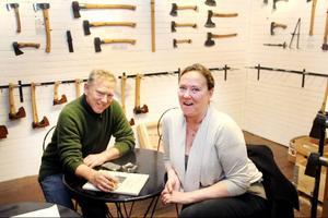 På lördagens julmarknad i Gränsfors finns paret Brånby givetvis på plats och kan berätta närmare om sina framtidsplaner för ett av Hälsinglands stora besöksobjekt.