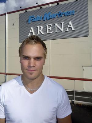 Alftaexporten Kristoffer Asp lämnar Falun efter fyra säsonger, för att lyfta allsvenska Granlo BK Sundsvall.