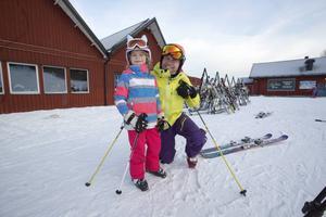 Tilde och Sami hade åkt från Älta utanför Stockholm för att åka skidor i Kungsberget.