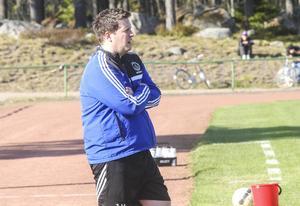 Jonas Höglund, tränare i Iggesund.